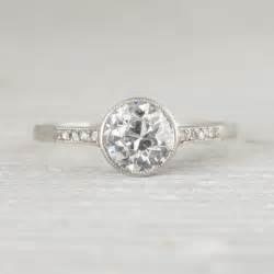 best 25 bezel engagement rings ideas on pinterest