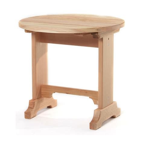 hton bay woodbury patio accent table d9127 ts the outdoor accent table all things cedar st22u outdoor round