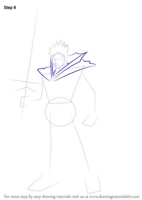how to draw an anime demon step by step creatures learn how to draw demon slaying knight lohengrin from