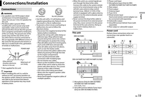pioneer deh x6700bt wiring diagram efcaviation