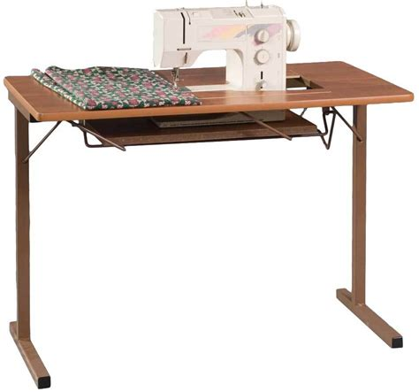 fashion sewing cabinets 299 portable sewing table rustic