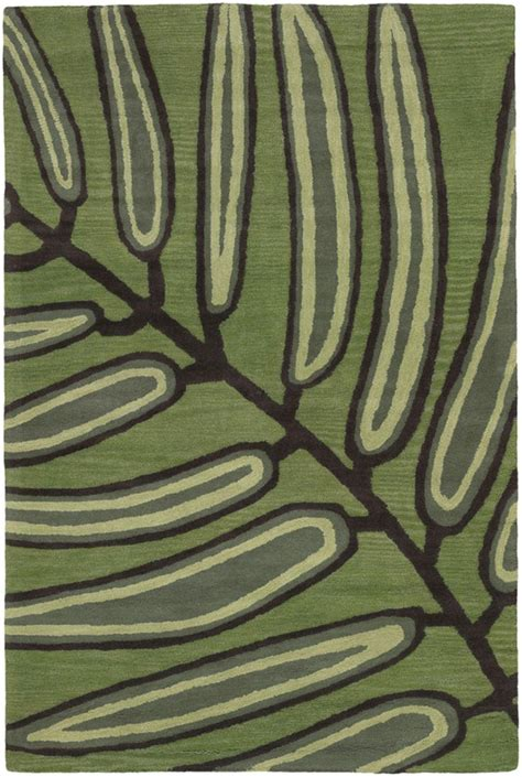 leaf pattern clematis rug aschera asc6406 rug from the botanical rugs i collection