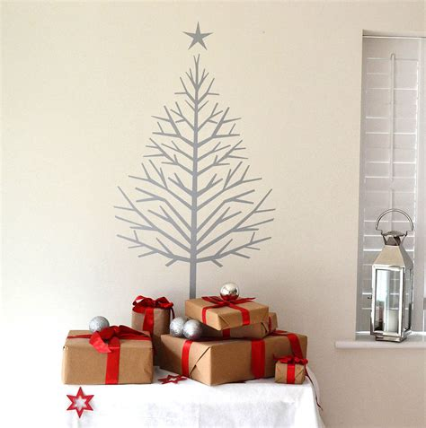 fir tree christmas tree wall sticker by leonora hammond