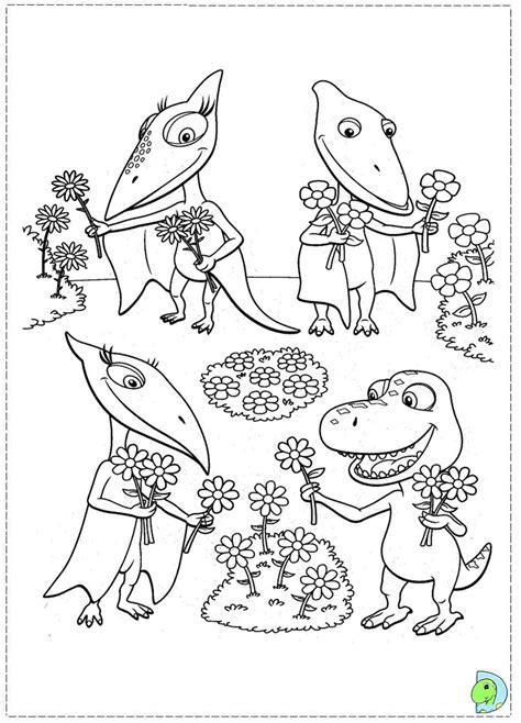 dinosaur train coloring page dinokids org