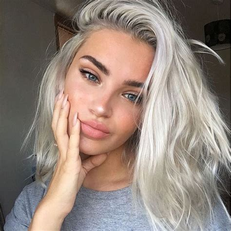 silver blonde haircolor best 20 silver blonde hair ideas on pinterest