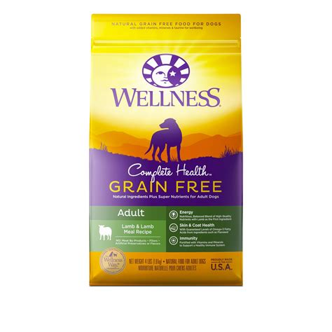 wellness food wellness complete health grain free meal recipe
