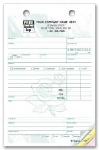 florist invoice template wedding flower invoice sles studio design gallery