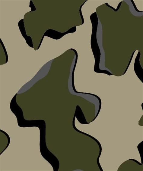pattern of breaking up hunting camouflage developed to blend in and break up