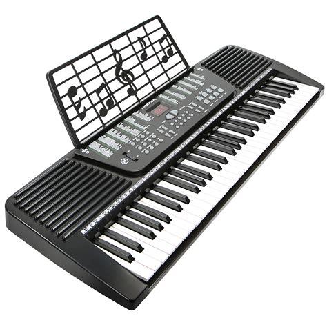 Keyboard Piano Techno T9880i new 61 key electronic keyboard electric piano black