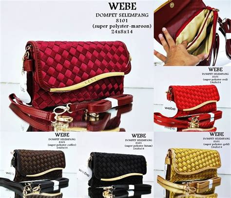 Tas Dompet Wanita Import Webe Bandonliere Murah jual tas wanita selempang import clutch webe selempang