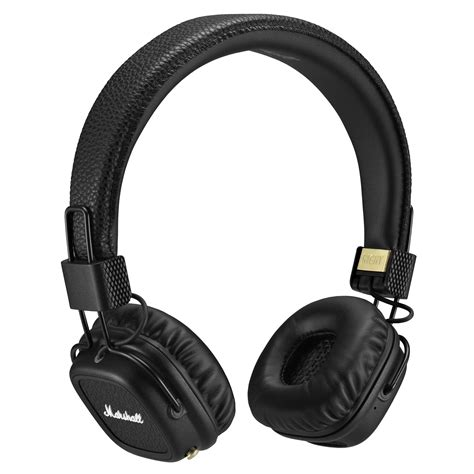 Headset Marshall marshall audio major ii bluetooth headphones black 4091378 b h
