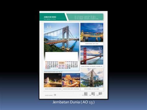 design kalender 1 bulanan kalender full design ao standard 2 bulanan