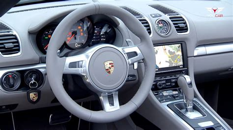 porsche boxster interior interior of the 2013 porsche boxster s