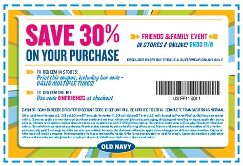 old navy coupons to use in store my cny mommy new old navy 30 coupon friends family