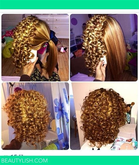 Spiral wand Curls ?   Ebonie A.'s Photo   Beautylish