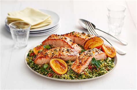 salmon food ali s you citrus salmon recipe tesco real food