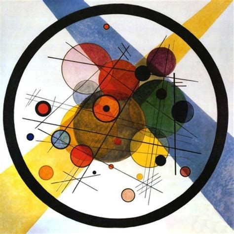 artisti illuminati lonequixote circles in a circle by wassily kandinsky