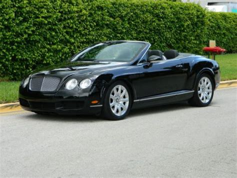 2008 bentley continental gtc convertible sell used 2008 bentley continental gtc convertible