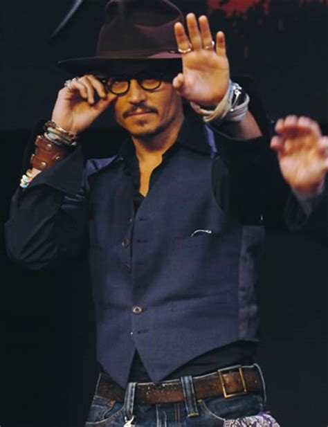 M K Takes Style Cues From Johnny Depp by Johnny Depp Clothing Style