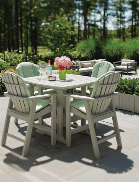 Seaside Casual Chairs by Seaside Casual Adirondack Shellback Bar Chair 060