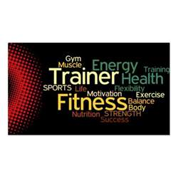trainer business cards personal trainer business card zazzle