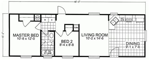 trailer house floor plans