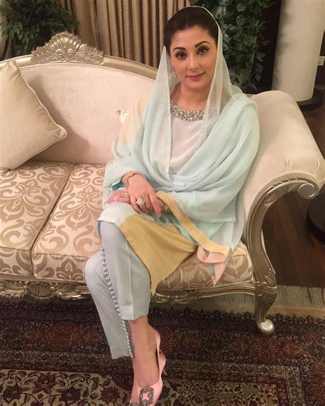Dress Nisa Pa maryam nawaz sharif looks beautiful in ammara khan at a