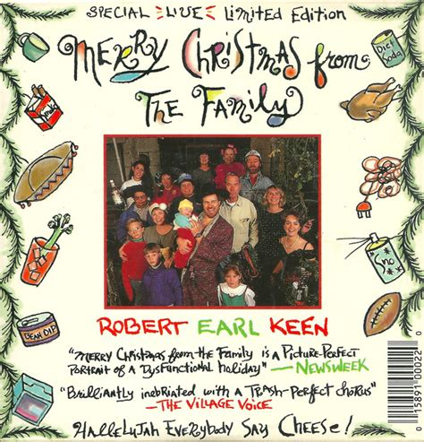 robert earl keen merry christmas   family cd single limited edition discogs