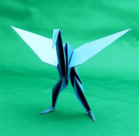 Origami Standing - origami standing crane 28 images how to make a