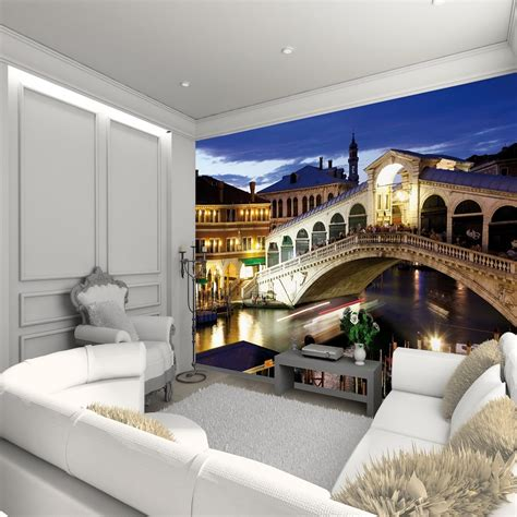 1 wall mural 1 wall wallpaper mural venice rialto bridge 3 15m x 2 32m