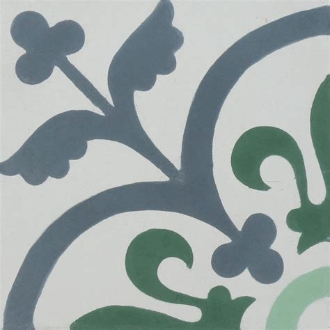 green patterned tiles madrid green encaustic cement tile madrid green patterned