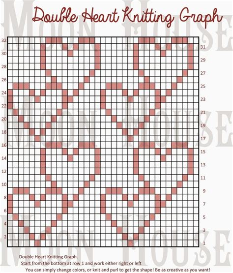 heart graph pattern 794 best images about knitting patterns free on pinterest