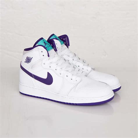 Light Purple Jordans by Air 1 Retro High Gs Quot Court Purple Quot Available