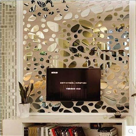 mirror wall stickers achetez en gros mur d 233 cor miroirs en ligne 224 des
