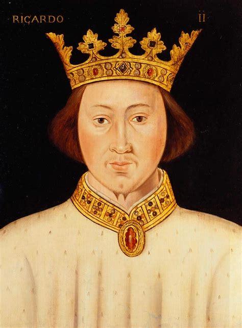 richard ii british school 16th century richard ii 1367 1400