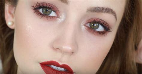 natural makeup tutorial pdf natural makeup for green eyes and red hair mugeek vidalondon