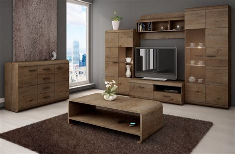 Modern Living Room Furniture Tv Wall Unit Lucano Led Living Room Wall Units Furniture