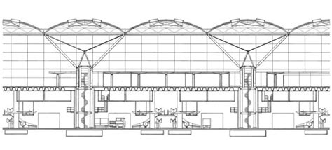 Electrical Floor Plan Drawing stansted airport by foster partners airports