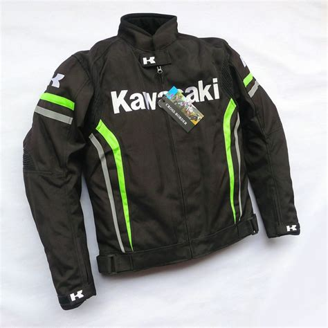 warm waterproof cycling jacket kawasaki waterproof warm motorcycle road jackets