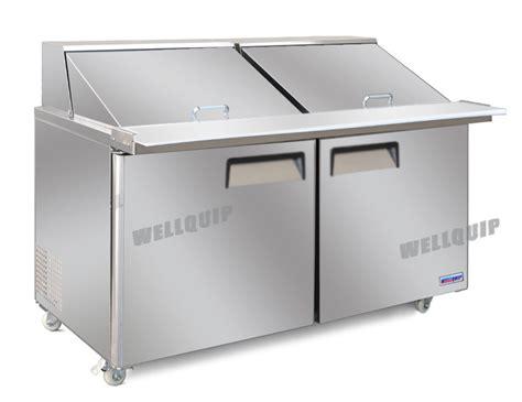 bench fridges for sale buy commercial saladette salad bench 2 door fridge msa52