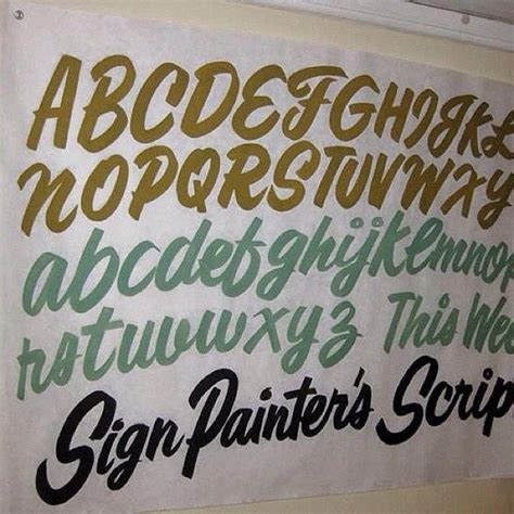 sign writing templates 17 best images about sign painting tools supplies on