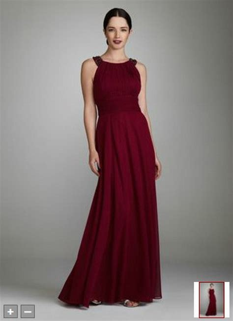 wine colored evening gown wine colored bridesmaid dresses