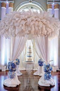 blue and silver wedding reception silver bling wedding