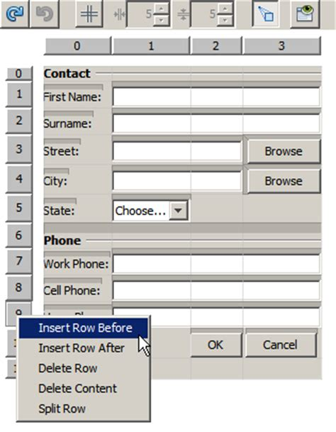 java netbeans forms tutorial designing an advanced java form using the gridbag