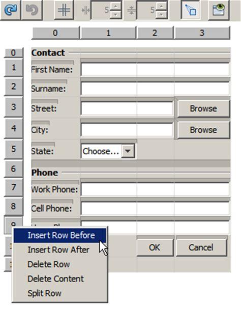 advanced java tutorial using netbeans designing an advanced java form using the gridbag