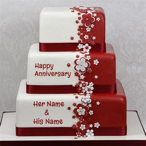 17 Best ideas about Marriage Anniversary Cake on Pinterest