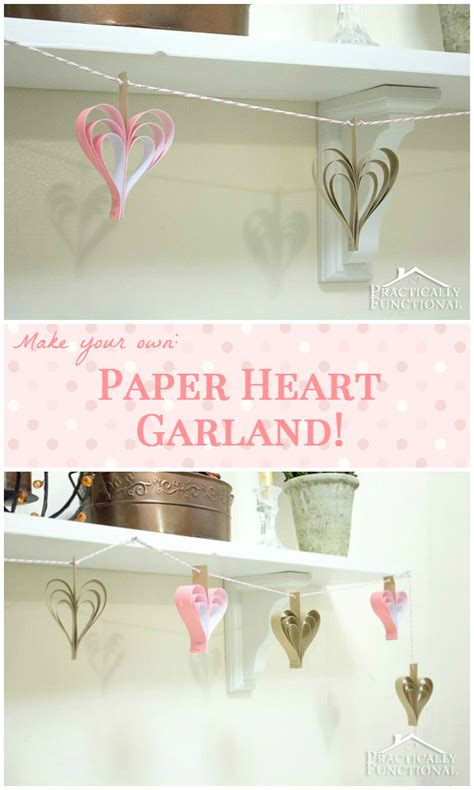 Make Your Own Paper Garland - diy paper garland
