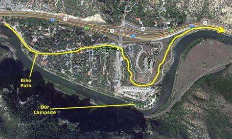 20020711 Colorado Trip Day 6 I 70 Bike Path
