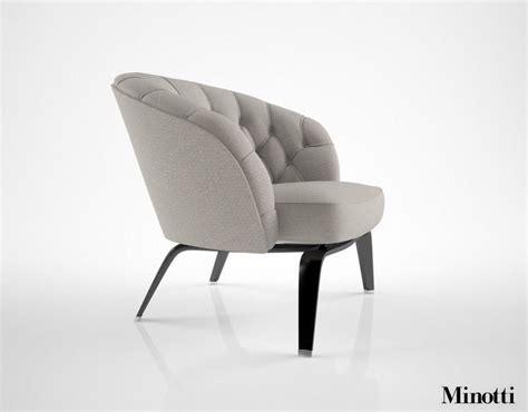 minotti armchair minotti winston armchair 3d model max cgtrader com