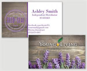 living essential oils business cards items similar to lavender living business card